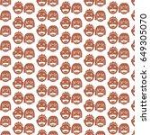 pattern background kid icon | Shutterstock .eps vector #649305070