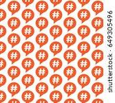 pattern background hashtag...   Shutterstock .eps vector #649305496