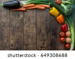 colorful  healthy  fresh... | Shutterstock . vector #649308688
