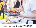 outside of the food and drink... | Shutterstock . vector #649339780