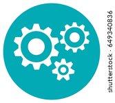 gear icon | Shutterstock .eps vector #649340836