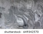 window covered up with paint | Shutterstock . vector #649342570