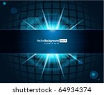 abstract technology squares... | Shutterstock .eps vector #64934374