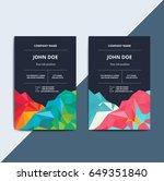 abstract multipurpose corporate ... | Shutterstock .eps vector #649351840