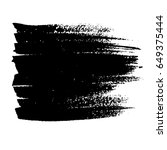 ink vector brush strokes....   Shutterstock .eps vector #649375444