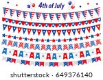 american independence day ... | Shutterstock .eps vector #649376140
