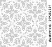 decorative ethnic ornament.... | Shutterstock .eps vector #649383889