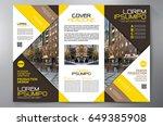 business brochure. flyer design....   Shutterstock .eps vector #649385908