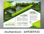 business brochure. flyer design....   Shutterstock .eps vector #649385920