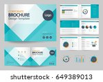 business brochure design... | Shutterstock .eps vector #649389013