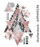 Japan Geometric Poster Design....