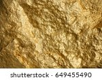 gold texture background | Shutterstock . vector #649455490