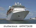 port canaveral florida usa.... | Shutterstock . vector #649472638