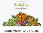 Fresh Vegetables Background...