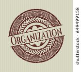 red organization distressed...   Shutterstock .eps vector #649499158