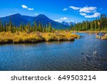 concept of active tourism and... | Shutterstock . vector #649503214