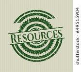 green resources distress rubber ...   Shutterstock .eps vector #649515904
