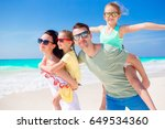 beautiful family have a lot of... | Shutterstock . vector #649534360