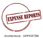 stamp with text expert reports...   Shutterstock .eps vector #649535788