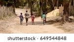 ziguinchor  senegal   apr 28 ... | Shutterstock . vector #649544848