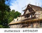 the renovation of a house. | Shutterstock . vector #649546549