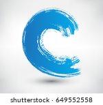 vector brush wave.grunge...   Shutterstock .eps vector #649552558