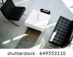 beautiful lobby   Shutterstock . vector #649553110