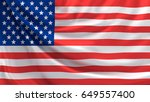 flag of united states of...   Shutterstock . vector #649557400