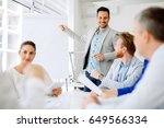 presentation and collaboration... | Shutterstock . vector #649566334