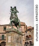 Pizarro's Sculpture In Trujill...
