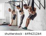 training on rings | Shutterstock . vector #649621264