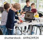 may  2017. minsk  belarus. ... | Shutterstock . vector #649624924