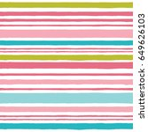 simple pattern with stripes in... | Shutterstock .eps vector #649626103