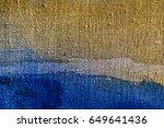 blue watercolor background... | Shutterstock . vector #649641436