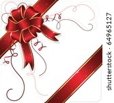 Holiday Bow And Ribbon ...