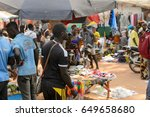canchungo  guinea bissau   may... | Shutterstock . vector #649658680