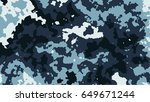 camouflage pattern vector | Shutterstock .eps vector #649671244