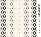 vector halftone texture ... | Shutterstock .eps vector #649678930