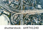 aerial view of a massive... | Shutterstock . vector #649741240
