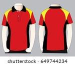 polo shirt design | Shutterstock .eps vector #649744234