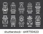 Ritual Symbols. Vector Set Of...