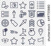 ui icons set. set of 25 ui...