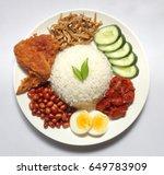 Nasi Lemak Is A Rice Dish...
