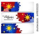 vector illustration of a banner ... | Shutterstock .eps vector #649833223