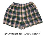 a pair of boxer shorts ... | Shutterstock . vector #649845544