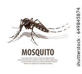 illustration vector. target on...   Shutterstock .eps vector #649845874