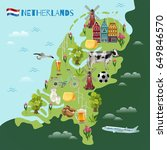 Holland Travel Sightseeing Map...