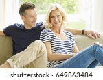 full length shot a happy mature ... | Shutterstock . vector #649863484