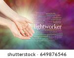 the healing hands of a... | Shutterstock . vector #649876546