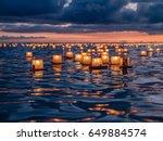memorial day lantern festival   ... | Shutterstock . vector #649884574